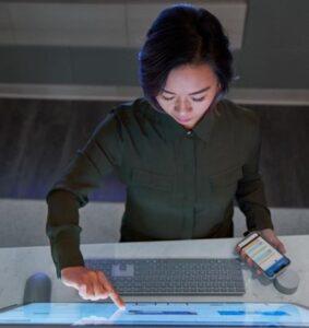 Corporate data in laptops